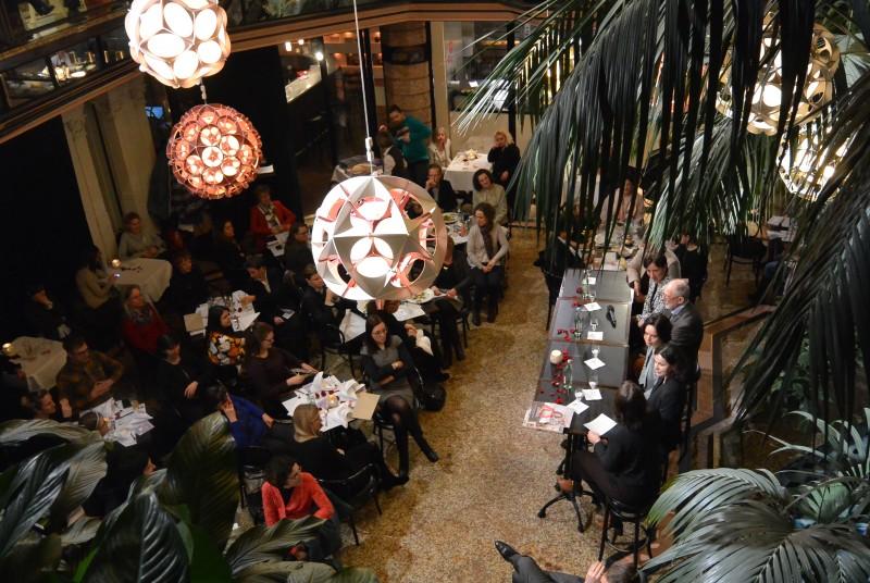 Der Palmengarten des Café Luitpold