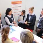 Interessierte Nachfragen an Katharina Heininger, Führungsfrau bei GEWOFAG.