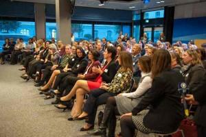 Großes Publikum bei der Abendveranstaltung im Bayerischen Rundfunk
