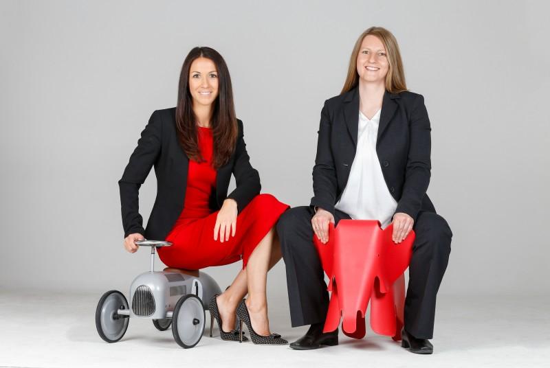 Das erste Topsharing-Tandem der Stadtwerke München: Nicole Gargitter (l.) und Claudia Kronberger (r.)