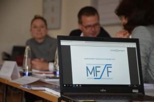 Benchmark-Sitzung mit Vertretern der beteiligten Unternehmen. Foto: BVK