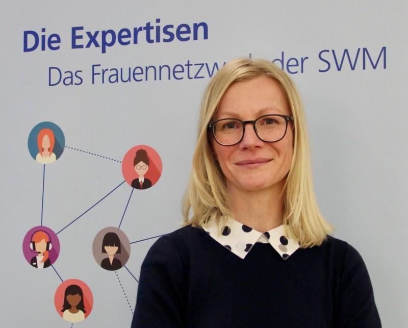 Ines Lindner, Mitbegründerin des SWM Frauennetzwerks