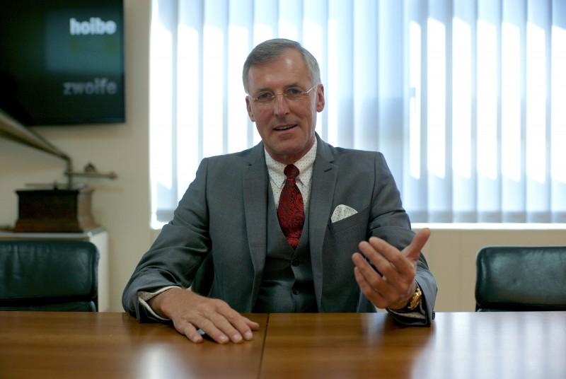 Daniel Just, Vorstandsvorsitzender der BVK