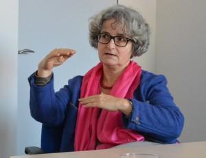 Lydia Pawlowski, Leiterin Personalentwicklung der Stadtwerke Augsburg, vermittelte die Mentorin und stellt sich der Mentee ebenfalls für Fragen zur Verfügung