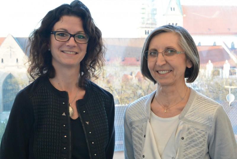 Veronika Köpf (links) und Gerhild Buchwald-Kraus (rechts)