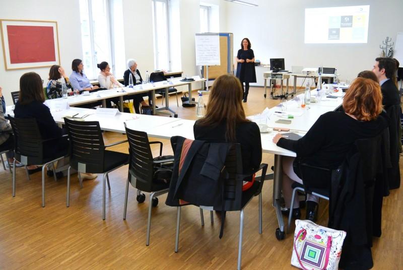 MFF-Sitzung mit Impulsvortrag von Diana Patrizia Eid
