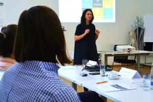 Gastrednerin Diana Patrizia Eid, Head of Global Recruiting bei der Däxlmaier Group