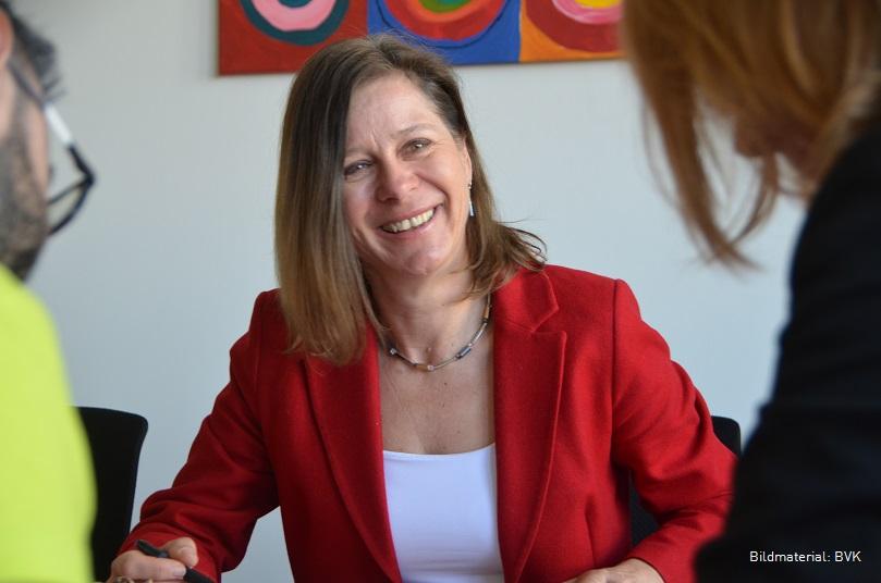 Birgit Derks, Referatsleiterin Zentrales Controlling bei der Bayerischen Versorgungskammer