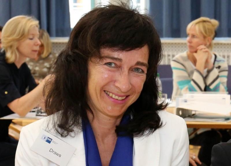 Christine Draws, Führungsfrau der BVK