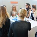 """KarriereMeetUp mit Andrea Kemmer, Partnerin im Bereich Consulting Financial Services bei KPMG AG Wirtschaftsprüfungsgesellschaft, zum Thema: """"Erfolg im Job – Karrieretipps für junge Frauen in der Beraterbranche"""""""