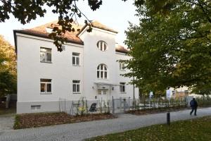 """Die """"Kindervilla"""" der Stadtwerke München Foto: Marcus Schlaf, 12.10.2017"""